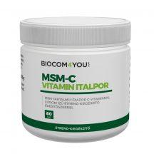 Biocom C-Vitamin+D3-Vitamin+MSM Italpor165g