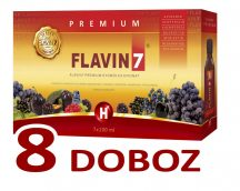 Flavin7 Prémium 8x7x100ml + Ajándék 3 doboz Flavin7 7x100ml