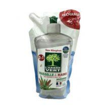 Larbre Vert mosogató és kézmosószer aloe verával utántöltő 500 ml