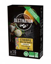 Destination bio kapszulás kávé ethiope 100% arabica 55 g