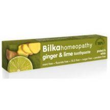 Bilka homeopátiás fogkrém gyömbér-lime fehérítő 75 ml