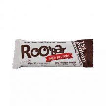 Roobar 100% raw bio high protein szelet csoki darabok&vaníli 60 g