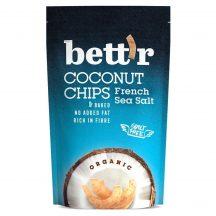 Bettr bio kókuszchips francia tengeri sós 70 g