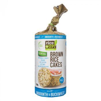Rice Up barna rizses puffasztott szelet hajdina amaránt 120 g