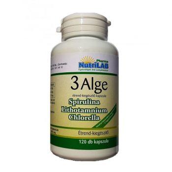 Nutrilab 3 alga tabletta 120x 120 db