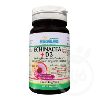 Nutrilab echinacea+propolis kapszula 30 db