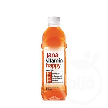 Jana vitaminvíz happy narancs ízű 500 ml