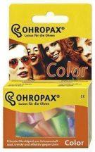 Ohropax color füldugó 8 db