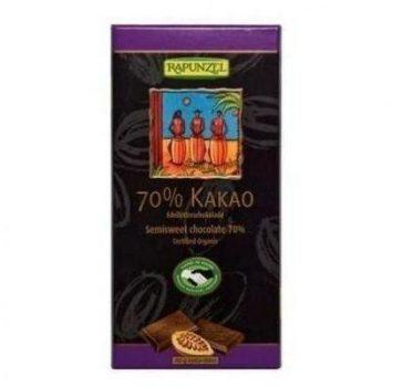 Rapunzel bio keserűcsokoládé 70% 80 g
