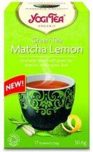 Yogi bio tea zöld matcha-citrom 17x1,8g 30 g