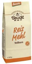 Bauck Hof bio gluténmentes rizsliszt teljes kiőrlésű 500 g