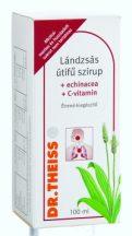 Dr.theiss lándzsás útifű+echinacea+c-vit folyékony-étrendkiegészítő 100 ml