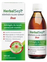 Herbalsept köhögés elleni szirup duo 100 ml