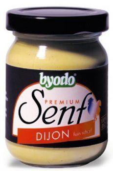 Byodo bio dijoni mustár 125 ml