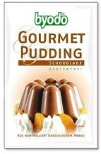 Byodo bio gluténmentes pudingpor csokis 50 g