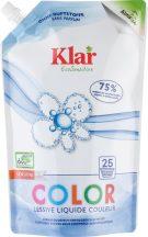 KLAR Color Szenzitív folyékony mosószer színes ruhákhoz - 25 mosásra 1500ml