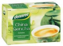 Dennree bio tea china sencha zöld 20x1.5g 30 g
