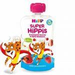 HIPP SUPER HIPPIS GR.ALMA-ACEROLA-MÁLNA 100 g