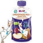HIPP SMOOTHIE MIX ÁFOLYA-KÖRTE-ALMA 120 ml