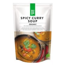 Auga bio vegán organikus fűszeres curry krémleves 400 g
