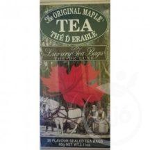Mlesna fekete tea juharszirup ízesítéssel 60 g