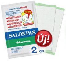 SALONPAS FÁJDALOMCSILLAPÍTÓ TAPASZ 2 DB