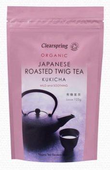 Clearspring bio kukicha ág tea 125 g