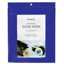 Clearspring nori-shusi pirított algalap 7 db