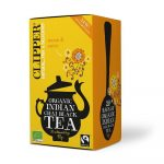 Clipper bio fairtrade indian chai tea 20x3 g 60 g