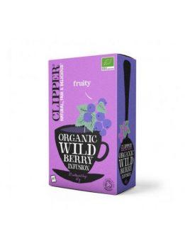 Clipper bio wild berry tea 20 filter 50 g