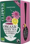 Clipper fairtrade green tea & echinacea 40 g