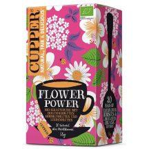 CUPPER BIO FLOWER POWER TEA 20X 20 filter