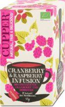 Cupper bio tea blackcurrant-blueberry feketeribizli-áfonya tea 50 g