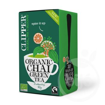 Clipper bio fairtrade green chai tea 20x2 g 40 g