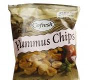 Eat Real hummus chips paradicsom és bazsalikom ízű 45 g