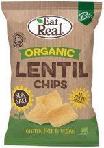 Eat Real bio lencse chips tengeri sóval 100 g