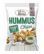 Eat Real hummus chips tejfölös snidlinges 45 g