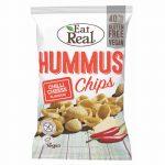 EAT REAL HUMMUS CHIPS CHILIS-SAJTOS 45 g