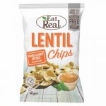 EAT REAL LENCSE CHIPS MANGÓ-MENTA 40 g