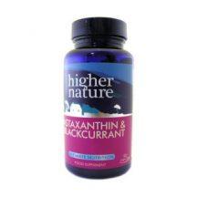 Higher nature astaxantin&fekete ribizli kapszula 90 db