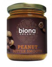 Biona bio lágy földimogyoróvaj só nélkül 250 g