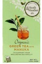 London H&H bio zöld tea és manuka méz 20x 40 g