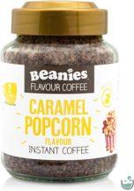 Beanies karamell-popcorn ízű instant kávé 50 g