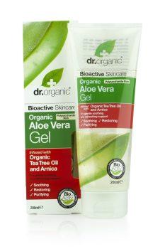 Dr.organic bio aloe vera gél teafaolajos 200 ml