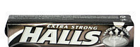 Halls cukor extra strong 34 g
