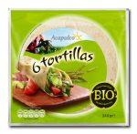 Acapulco bio lágy tortilla tészta 240 g