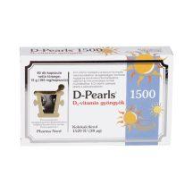 D-PEARLS D3-VITAMIN KAPSZULA 1500
