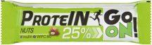 Sante go on tejcsokoládéval bevont mogyorós protein szelet 50 g