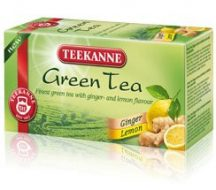 Teekanne zöld tea gyömbér-citrom 20x1,75g 35 g