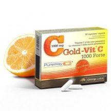 Gold-Vit® C 1000 Forte - újgenerációs szabadalmazott C-vitamin formula